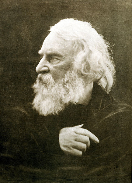 A picture of the author Henry Wadsworth Longfellow