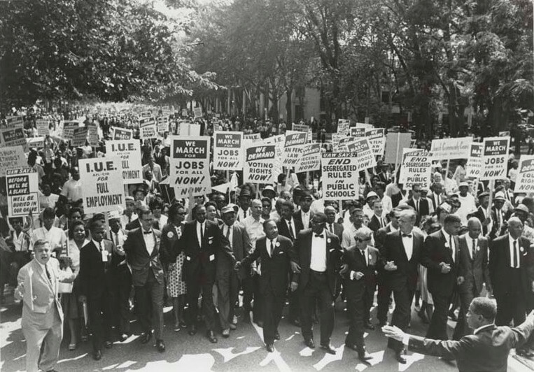 March for Jobs and Freedom, 1963