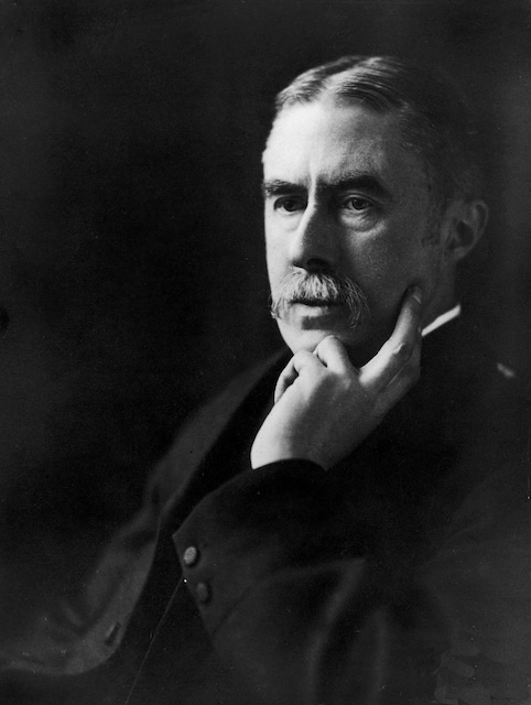A picture of the author A. E. Housman
