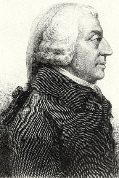 A picture of the author Adam Smith
