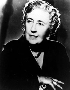 A picture of the author Agatha Christie