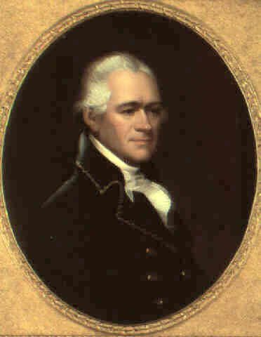 A picture of the author Alexander Hamilton
