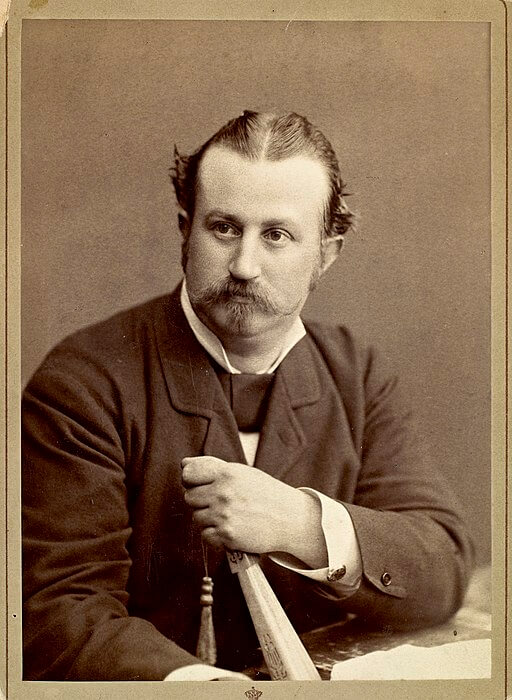 A picture of the author Alexander Kielland