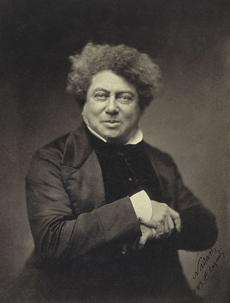 A picture of the author Alexandre Dumas