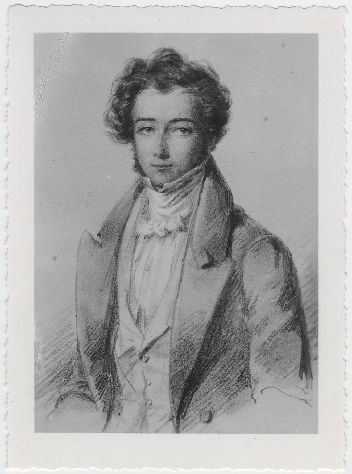 A picture of the author Alexis de Tocqueville