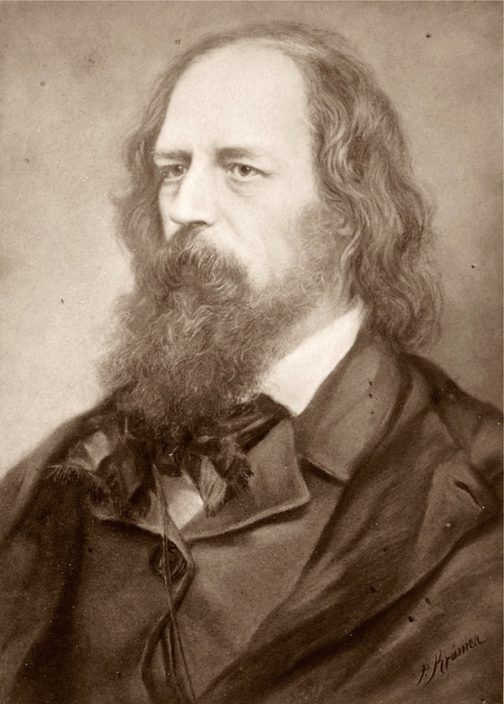 A picture of the author Alfred Lord Tennyson