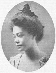 A picture of the author Alice Dunbar-Nelson