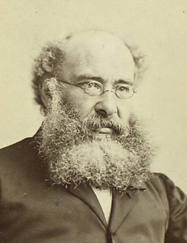 A picture of the author Anthony Trollope