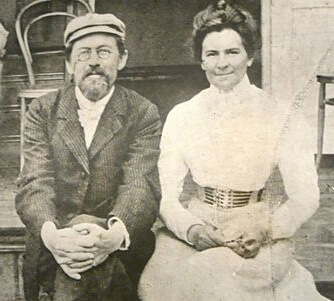 Realism: Anton Chekhov and Olga Knipper, 1901