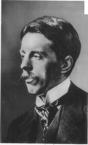 A picture of the author Arnold Bennett