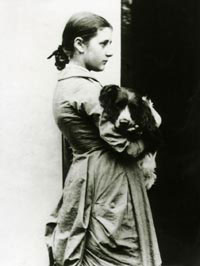 A picture of the author Beatrix Potter