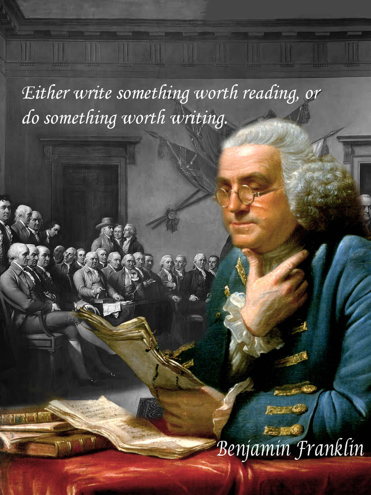 Benjamin Franklin quote, founding fathers