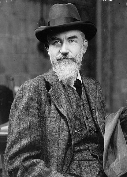 A picture of the author Bernard Shaw