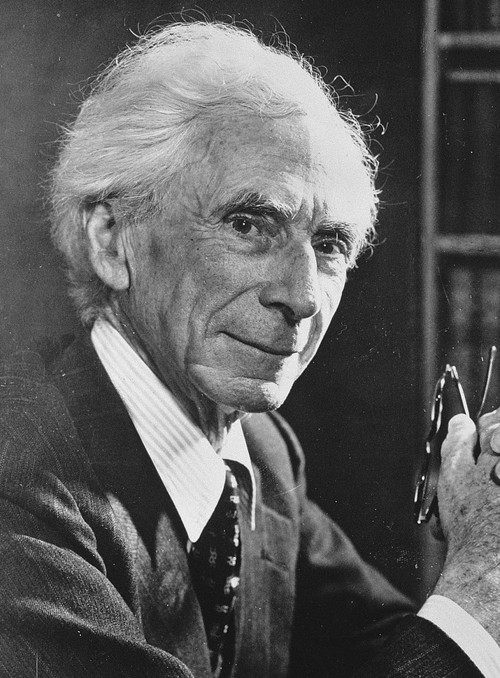A picture of the author Bertrand Russell