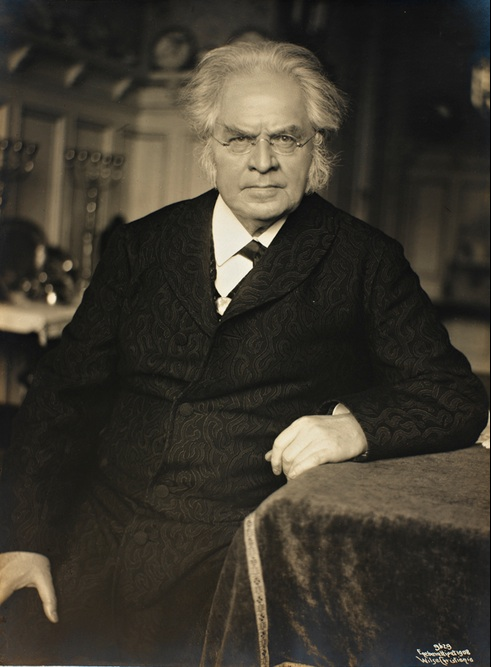 A picture of the author Bjørnstjerne Bjørnson