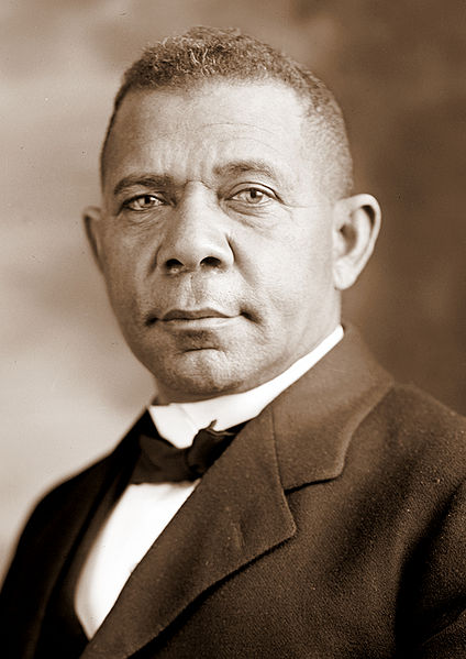 A picture of the author Booker T. Washington