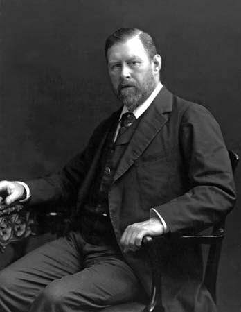 A picture of the author Bram Stoker