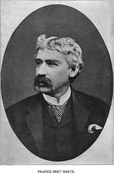 an analysis of the topic of the bret harte an american author