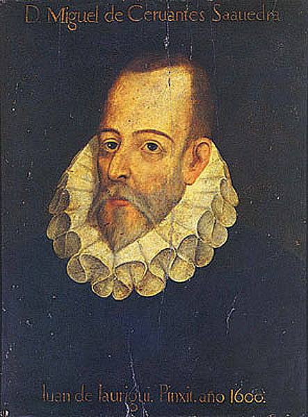 A picture of the author Miguel de Cervantes