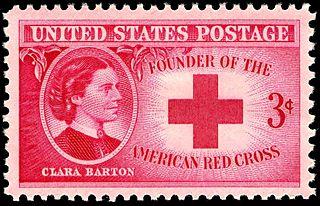 Clara Barton stamp 1948