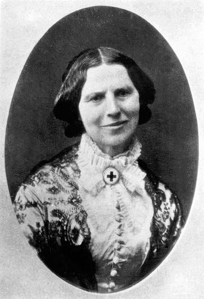 A picture of the author Clara Barton