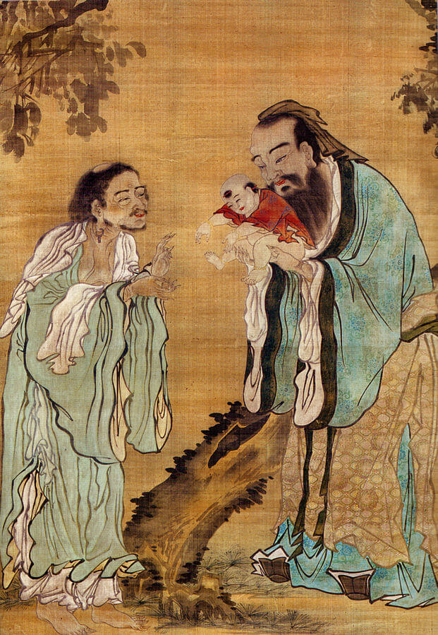 A picture of the author Confucius