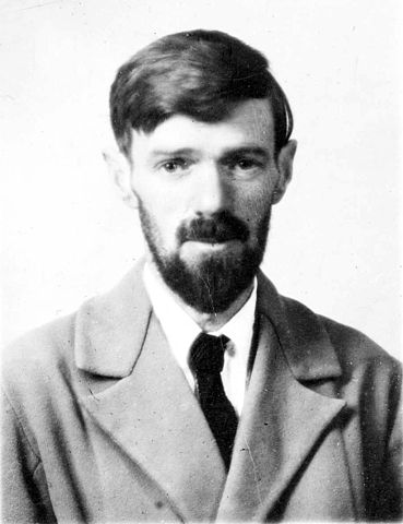 A picture of the author D. H. Lawrence