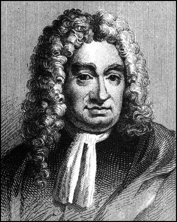 A picture of the author Daniel Defoe