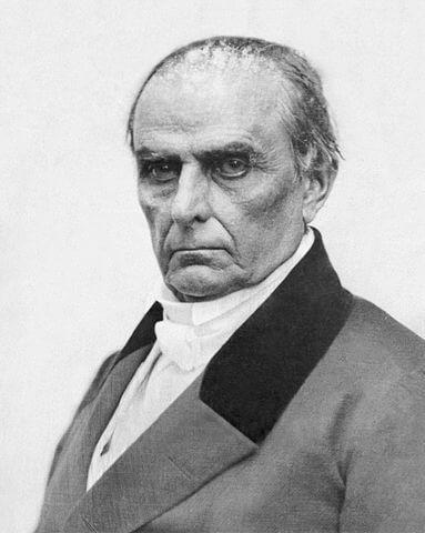 A portrait of Daniel Webster