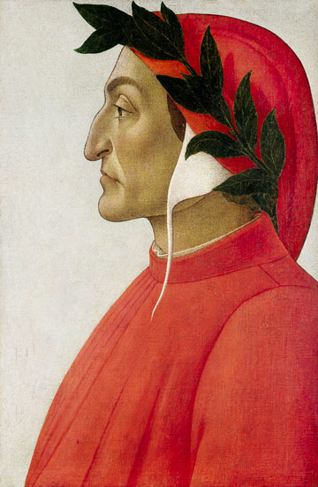 A picture of the author Dante Alighieri