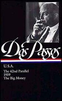 John Dos Passos USA cover