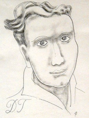 A picture of the author Dylan Thomas