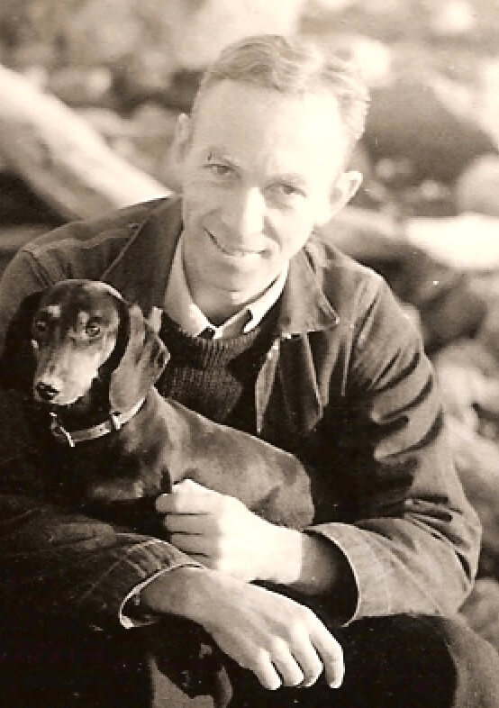 A picture of the author E.B. White