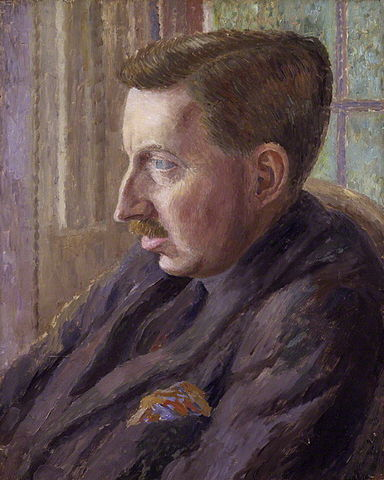 A picture of the author E.M. Forster