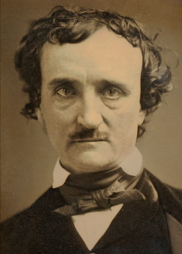 A picture of the author Edgar Allan Poe