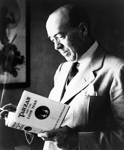 A picture of the author Edgar Rice Burroughs