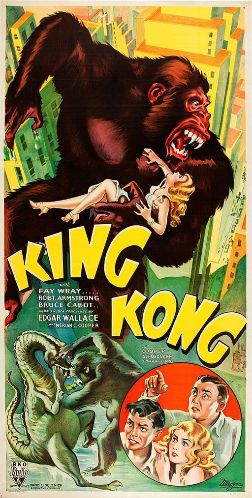 Edgar Wallace, creator of King Kong movie script, 1933