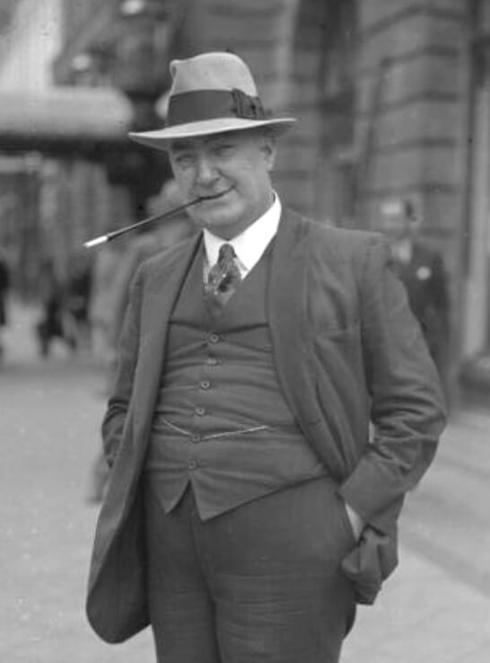 A picture of the author Edgar Wallace