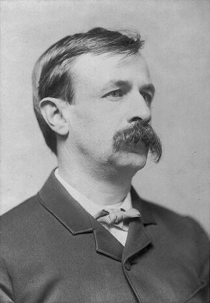 A picture of the author Edward Bellamy