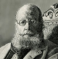 A picture of the author Edward Lear