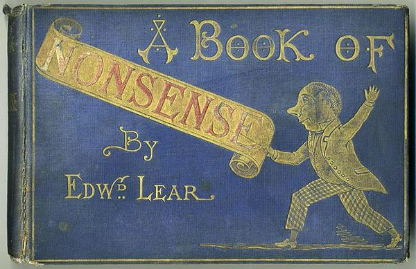 A Book Of Nonsense published by Edward Lear in 1846
