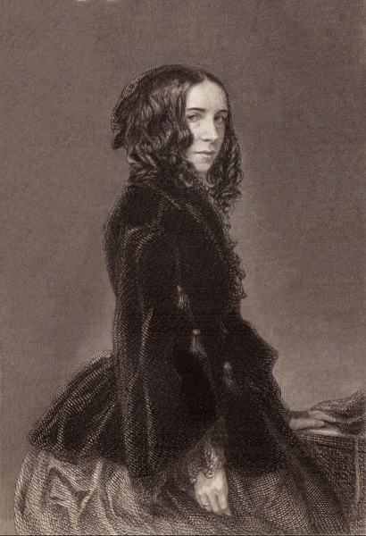 A picture of the author Elizabeth Barrett Browning