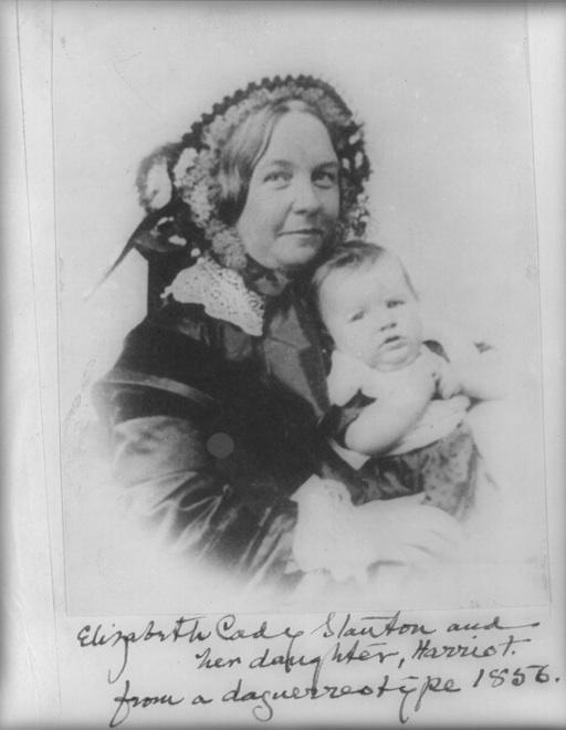 A portrait of Elizabeth Cady Stanton