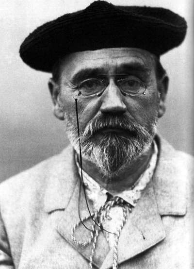 A picture of the author Emile Zola