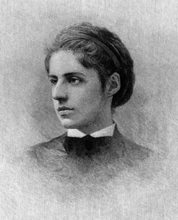 A picture of the author Emma Lazarus