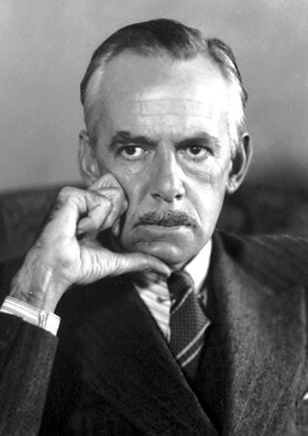 A picture of the author Eugene O'Neill