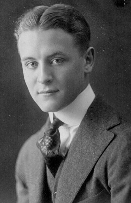 author F  Scott Fitzgerald  F Scott Fitzgerald Young