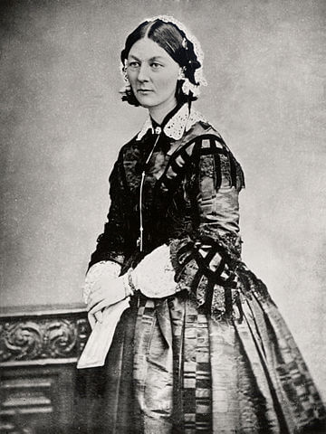 A picture of the author Florence Nightingale