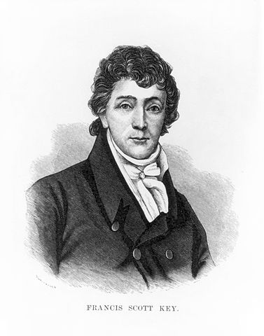 A picture of the author Francis Scott Key