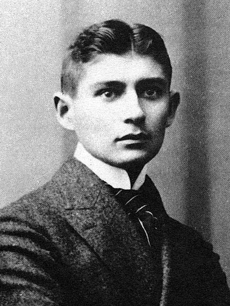 A picture of the author Franz Kafka